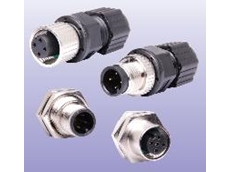 M12 range of waterproof connectors