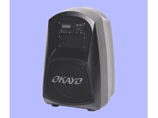 Okayo 30W compact portable PA systems are compact and weight just 4kg