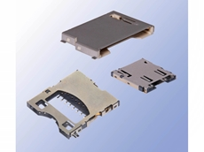SD card board sockets