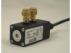 DS Series differential pressure switches measure pressures in fluids