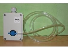 Hydrogen sulphide emission monitor
