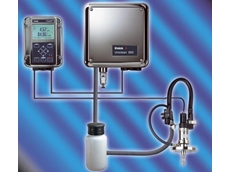 Measuring point with Uniclean 900 control system, Protos 3400 measuring system and SensoGate sensor lock-gate