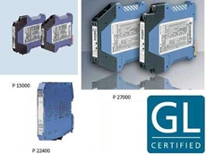 Marine approved signal isolators and converters