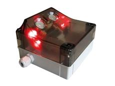 PU-02 ultrasonic traffic sensors from Alvi Technologies for ceiling installation