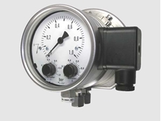 SIL 2 certified differential pressure switch for marine applications