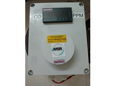 MSR gas monitoring and control system