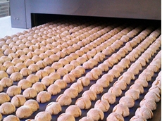 Ammeraal Beltech conveyor belts are capable of conveying bakery products