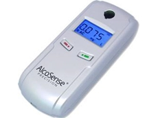 Andatech AlcoSense precision fuel cell breathalyser for worksite alcohol testing
