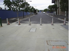 Bollards for vehicle, pedestrian and security applications from Andian Sales