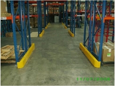 Heavy Duty Pallet Rack End Guards