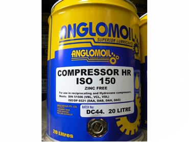 Anglomoil Compressor HR Oil for reciprocating and hydrovane compressors