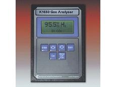 Alternator purge gas monitor