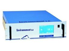 Environnement SA's carbon monoxide analyser.
