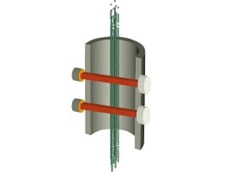 Infrared cross correlation gas flowmeter