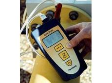 Landfill gas analyser