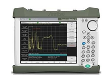 MS2712E Spectrum Master handheld spectrum analyser