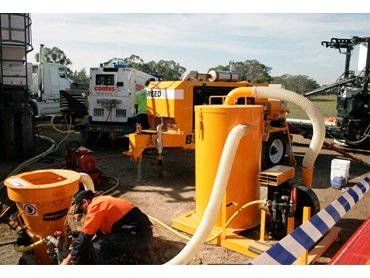 Dust Extractors for fine cement dust particles