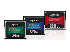 Apacer CFast memory cards