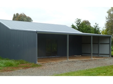 Durable and weather resistant Farm Machinery Sheds for reinforced storage spaces