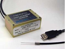 Philtec USB fibre optic sensor