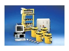 Synchronous hydraulic lifting system.