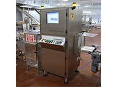 One of the custom-built x-ray inspection systems installed at the Nestle factory