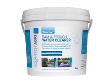 This eco-friendly solution ensures water is clear of all contaminants