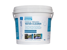 Restore Natural Water Clarity with Waterbac Dam and Trough Water Clearer by Aqua-Tech