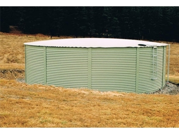 With a library of colours, Powder Coated Steel Tanks can emphasis the perfect landscape