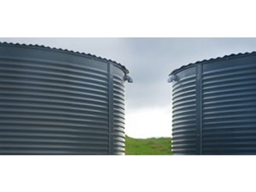 For industrial or domestic use, Powder Coated Steel Tanks provide durability and colour to water supply storage