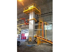 Archimedes Engineering's belt and bucket elevators can lift bulk materials with a screen size of up to 35mm