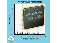 The MAX19586 has a large dynamic range.