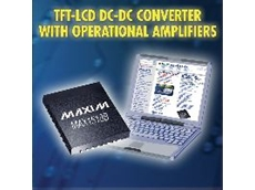 Dc-dc converter with five operational amplifiers