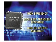 MAX1540 dual, pulse-width modulation step-down controller.