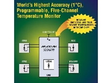 High accuracy five-channel temperature monitor