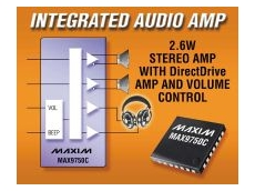 Integrated audio amplifier