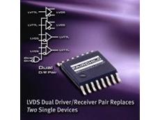 LVDS dual driver/receiver pair