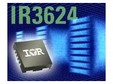 IR3624 synchronous buck PWM controller IC.
