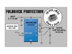 Power supplies with foldback protection