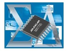 Maxim MAX7705 ADC.