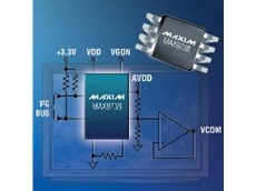 Simplifies the VCOM-adjustment process and replaces mechanical potentiometers.