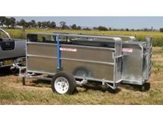 The APY17 portable goat yards - goat handling equipment