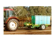 Binmax and Bin Buddy grape trailer series from Ashmore Engineering