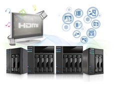 AS 2 series network attached storage devices