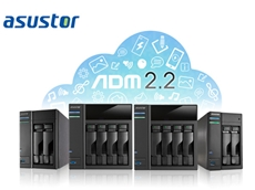 ADM 2.2 is available for all ASUSTOR NAS devices
