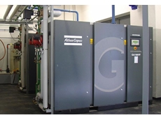 Variable Speed Drive (VSD) compressed air station