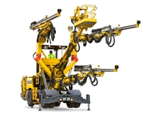 XL3 D Three-boom hydraulic tunnelling rigs