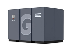 New energy saving air compressors from Atlas Copco
