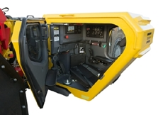 Atlas Copco encloses its loader cabins