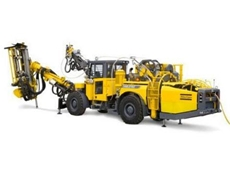 The Cabletec LC cable bolting rig from Atlas Copco Mining and Construction.